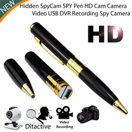 Acheter en ligne Mini caméra cachée gratuite-HD Spy Pen Caméra cachée Caméscope Mini DV DVR Video Business Portable Recorder Livraison gratuite