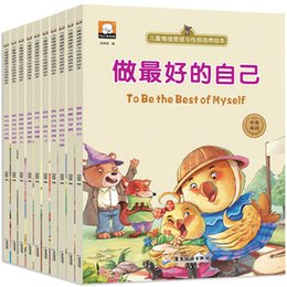 Wholesale Bedtimes Stories - Wholesale- 10pcs Bilingual Chinese and English picture books   Kids Children Bedtime Short Story Book   To be the best of yourself