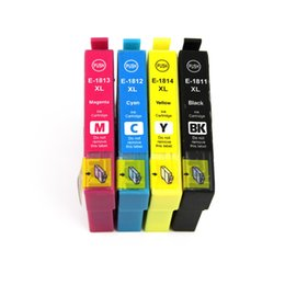 Wholesale Epson Xp Ink - T1811 T1812 T1813 T1814 ink cartridge for Epson Expression Home XP-30 102 202 205 302 305 402 405 405WH 212 215 312 315 412 415