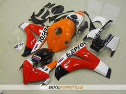 Wholesale Buy Fairings - 4 Free Gifts New ABS Injection Motor Fairing Kits 100% Fit for Honda CBR1000 CBR1000RR 08-11 CBR1000 2008 2009 2010 2011 TOP buy repsol