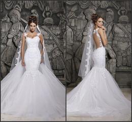 Discount vestidos wedding dress lace - Sexy Berta Mermaid Wedding Dresses 2017 In Stock Illusion Back Saudi Arabia Dubai Vestidos De Novias Vintage Lace Bridal Gowns CPS296