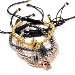 Wholesale Italian Cross - Italian Mens Bracelets Bulk Charm Bracelets Vintage Bohemian Jewelry Multi Colors Cross Design Handmade Beads Bracelets 16B018R
