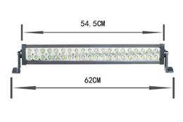 Wholesale Truck Lamps - Super bright Led Light bar 120w led working lamp for Jeep truck and off road 4wd