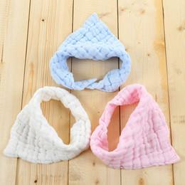 Wholesale Newborn Baby Handkerchief - Wholesale- Baby Bibs Newborn Face Towel Cotton Kids Wash cloth Handkerchiefs Baby