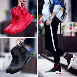 Wholesale Thermal Cotton Boots - Fashion Men's Leather Sneakers Waterproof Casual Sports Shoes for Men (Please choose 0.5 size larger! ! !) Thermal Short Snow Boots