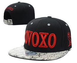 Wholesale Ovoxo Snapback Hats - Fashion Snapback Baseball Caps Summer OVOXO Letter Hats For Women Men Sports gorras hip hop hat Adjustable