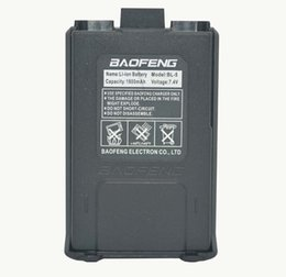 Wholesale Baofeng Bl - Wholesale- 1800mah BL-5 Original Li-Ion Baofeng uv5r Battery For Radio Walkie Talkie Accessories Baofeng UV-5R Uv-5re 5ra Uv 5r Battery