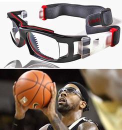 Wholesale Eyeglasses Rack - Sports Glasses Basketball Goggles Anti-fog Explosion-proof Eyeglass Frame PC Lenses Myopia Eyewear Frame Rack wholesales free-shipping