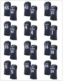 Wholesale Men S Toms - Villanova Wildcats Stitched Jerseys #1 Jalen Brunson 4 Eric Paschall 5 Phil Booth 10 Donte DiVincenzo 14 Omari Spellman 24 Tom Leibig S-3XL