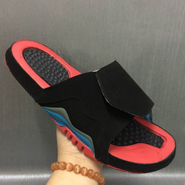 Wholesale Free Booties - 2017 good quality Fashion Retro 5 slippers sandals Hydro 4 Retro 11 6 Slides Free shipping shoes casual shoes sneakers 8 size 36-46