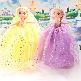 Wholesale Ddung Dolls Fashion Toys - 26CM Print star cloth ddung doll toy for girl child beautiful gift DIY cartoon toy