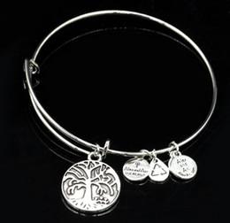 Wholesale Sterling Silver Bracelet Girl - Charm Expandable Wire Bracelet Bangle Women Girls Gift Summer Jewelry 20Pcs Lot