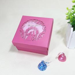 Favores de la boda Cajas de regalo para invitados Regalos de boda Cajas para regalos de boda Cajas de dulces Regalos de boda para invitados Dos tamaños opcionales desde fabricantes