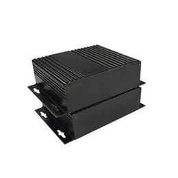 Wholesale Pcb Electronics Projects - szomk housing for PCB aluminum enclosure (10 pcs) 41*147*100mm project case electronics enclosure szomk distribution box AK-C-A2