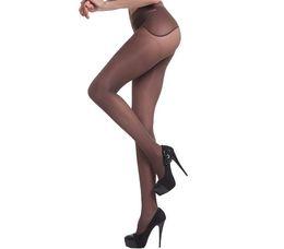 Wholesale Hard Wear - Premium Brand Women Leggings Spring 80D 360° Velvet Seamless Hard-wearing Soft Ultra Fine Apple Hip Micro Pressure Shape Leg Pantyhose