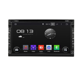 Wholesale Phone For Quad Core - Quad Core 16GB 2Din Android 5.1.1 Universal Car DVD Multimedia Player Radio Stereo FM DAB+ 3G 4G WIFI GPS Map For Nissan sentra