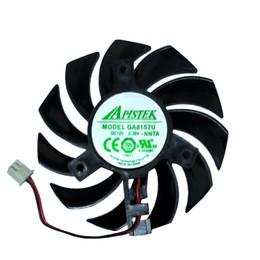 Wholesale Free Pitch - Free Shipping 1Pcs Lot Brand New EVEA Onda Graphics Card Cooling Fan APISTEK GA81S2U NNTB DC 12V 0.38A Diameter 75mm Pitch 40mm