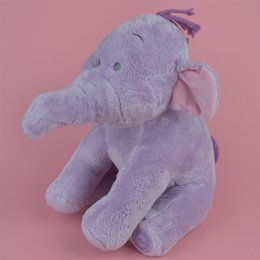 Argentina 40 cm a estrenar Soft Stumped Animals Lumpy peluche de juguete, Orignal elefante bebé Kids Doll regalo envío gratis Suministro