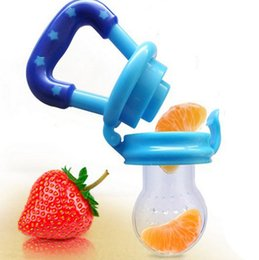 Wholesale Baby Milk Nipple - Kids Nipple Fresh Food Milk Nibbler Feeder Feeding Safe Baby Supplies Nipple Teat Pacifier Bottles BPA free