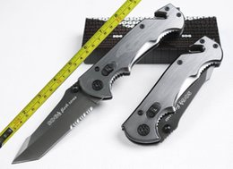Wholesale New Tanto Knife - Free Shipping 8'' New SOG Flash tanto Multi function serrated blade Folding Pocket Knife VTF19