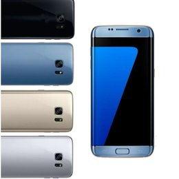 Wholesale Gold Bar Boxes - Sealed Box 1:1 S7 edge phone curved 5.5inch 1GB+8GB 3G WCDMA Dual Camera Metal Frame MTK6580 Andriod 6.0 can show fake 4G LTE 64G