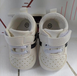 Wholesale Baby Girl Shoes Pair - Stylish summer Newborn Infant Toddler Sport Sneaker Baby Boys Girls casual cotton Geometry Shoes Pre-walker one pairs