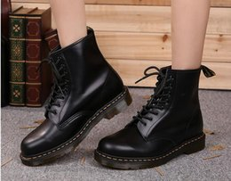 Wholesale Dr B - Newest leather boots Winter ankle Style Dr. Genuine Leather Marten Boots Martin Shoes Men&Women Dr Designer waterproof Boots