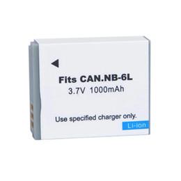 Wholesale Nb 6l - Wholesale-NB6L NB-6LH NB-6L Digital Batteries for Canon Power-shot Cameras SX520 HS SX530 SX600 SX610 SX700 SX710 IXUS 85 95 200 210 105