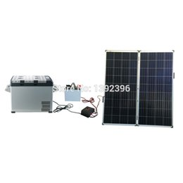 Wholesale 12v Solar Panel System - Wholesale-2016 Refrigerator 300W High Efficiency PV Thin Film Solar Panel Solar Power System