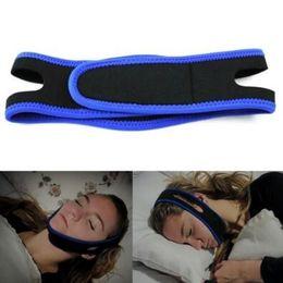 Wholesale Stop Snoring Belt - Anti Snoring Chin Strap Neoprene Stop Snoring Chin Support Belt Anti Apnea Jaw Solution Sleep Device With Retail Box CCA6723 50pcs
