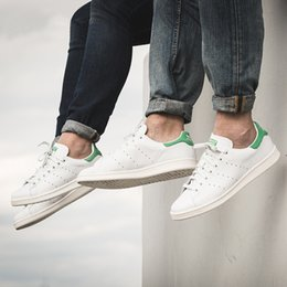Wholesale Best New Casual Sneakers - Best quality Factory Wholesale Classic casual shoes new stan shoes fashion smith sneakers casual leather women men sport running shoes
