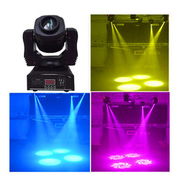 Wholesale Moving Light Gobos - Wholesale- dj spot gobos 60w led moving head light dmx 9 11 channels stage light free shipping