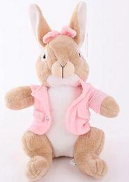 Wholesale Peter Rabbit Plush - 2017NEW50cm 65cm peter rabbit plush toy doll pillow, rabbit stuffed animal doll, boy and girl birthday gift