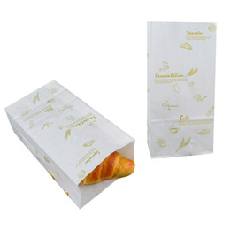 Wholesale Hamburger Paper - cookies baking food packing bag popcorn hamburger coffee nut many size eco-friend recyclable kraft shopping bags fast food paper