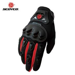 Wholesale Motocross Protect - Wholesale- Motorcycle Gloves Man Knuckle Protect SCOYCO Brand Glove Men Racing Moto Cycling Motocross Motorbike Motocicleta Guantes Luvas
