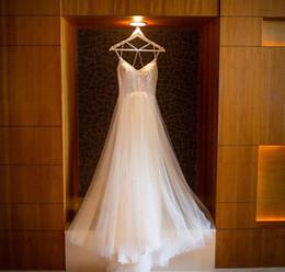 Boho Chic robe de mariée robe de mariée de plage faible retour haut Qualiuty dentelle avec perles robe de mariée simple, corset Sexy robes de mariée ? partir de fabricateur