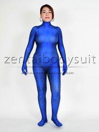 Wholesale Party Mask Making - Woman 3D Print X-men Film Mystique Cosplay Costume Party Suit No Mask