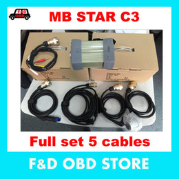 Wholesale Diagnosis Tools - Hot Sale Professional MB STAR C3 mb star c3 diagnosis multiplexer mb star c3 professionals tools without HDD DHL free shipping