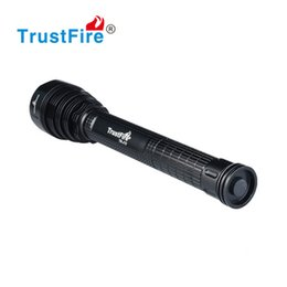 Wholesale Brightest Led Driving Lights - Camping Light Outdoor Sports LED Flashlight Waterproof High Power Super Brightest XM-L 5 LED T6 Flash Light 18650 Rechargeable Battery Torch