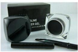 Wholesale Eyeliner Brush Sale - FREE SHIPPING hot sell good quality Lowest Best-Selling good sale Newest product Black Eyeliner Waterproof Gel Liner+Free brush 5G