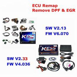 Wholesale Honda Tuning Kit - 2018 KESS V2 V2.3 FW V4.036 OBD2 Manager Tuning Kit Master KTAG V6.070 ECU Programmer Tool K-tag with ECM Titanium
