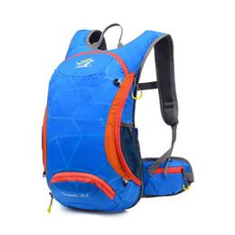 Wholesale Bicycle Bag Phone Orange - Wholesale- 15L Ripstop Waterproof Ultralight Back Bag for Bicycle Runnings Cycle Hydration Backpacks (Optional 2L TPU Water Bladder)