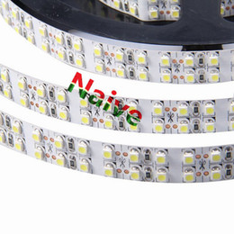 Wholesale Indoor Led Neon Lights - 3528 240leds m 5m Lot Fita Double Row waterproof strip light LED tape DC12V lamp flexible led ribbon neon for indoor lighting