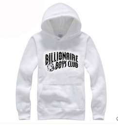 Wholesale Bbc Xl - 2017 new autumn winter brand Hoodie sweatshirt hip hop BILLIONAIRE BOYS CLUB BBC fashion men's sports fleece pullover M-3XL