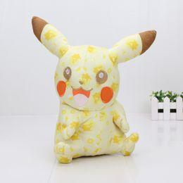 Wholesale Cartoon Anime Dolls - Anime Cartoon Pikachu 20th Anniversary Edition Plush 10inch 25cm Soft Stuffed Animal Dolls Gifts For Kids