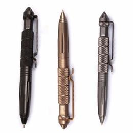 3 цвет открытый карманный EDC ручка - ручка стекла выключатель алюминиевый аварийный инструмент выживания гаджеты на открытом воздухе бесплатная доставка supplier edc pens от Поставщики ручки edc
