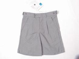 Wholesale Free Fashion Capri - Wholesale Men's fashion samurai patch ripped FORMAL shorts for man Capri breeches fit school business Free shipping