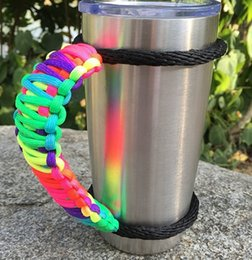 in stock handmade cup handle paracord for yeti rambler 20 oz 30 oz rambler tumbler cups handle drinkware handle in bulk price - K Cups Bulk