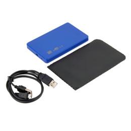"""Wholesale Hard Case Sale - Wholesale- Hot newest USB 2.0 480Mbps Enclosure Case Box for Laptop 2.5"""" SATA Hard Drive hot sale Wholesale"""