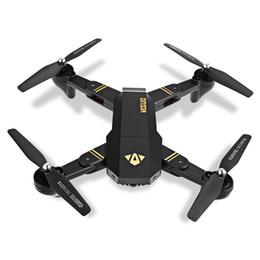 2019 rc helicóptero rotor cámara 5 unids RC visuo XS809HW 2.4G volando carreras helicóptero rc drones con cámara hd drone profesional fpv quadcopter aviones fotografía rc helicóptero rotor cámara baratos